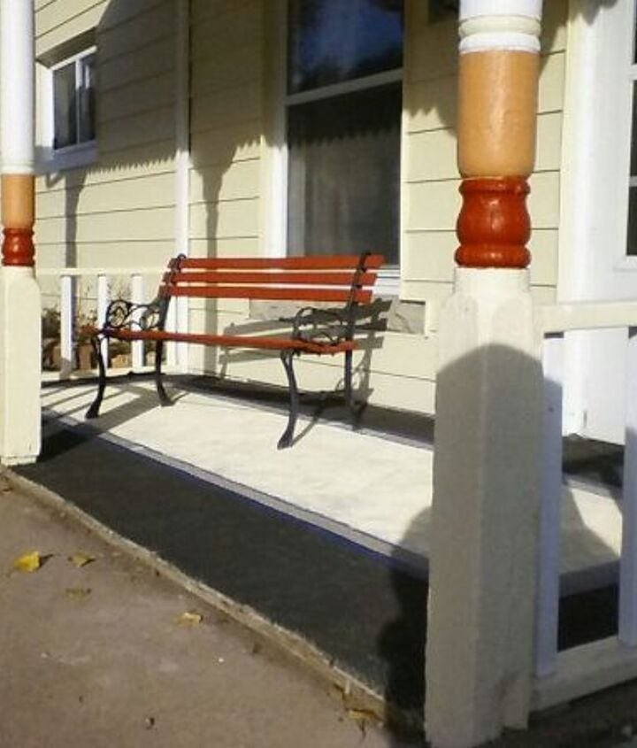 front porch update