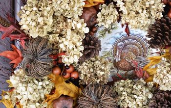 Embellish a Wreath With a Plate