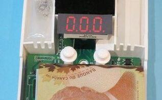 co2 detector wall safe hidden in plain sight