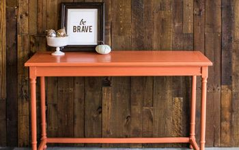Console Table - Before & After