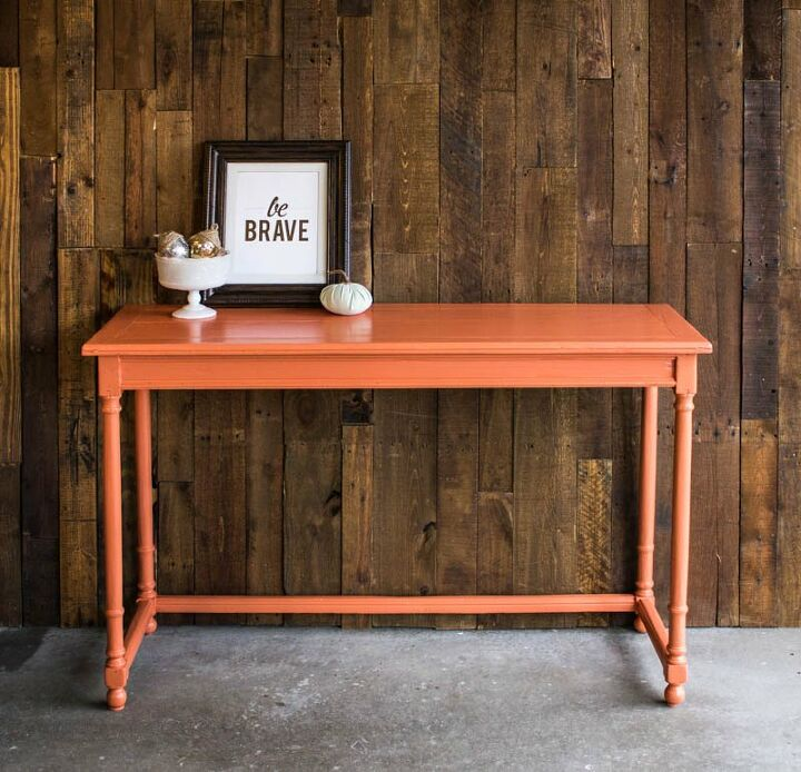 console table before after