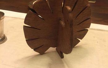 Turkey Table Decoration