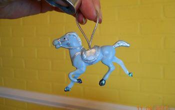 Little Blue Horse Ornament