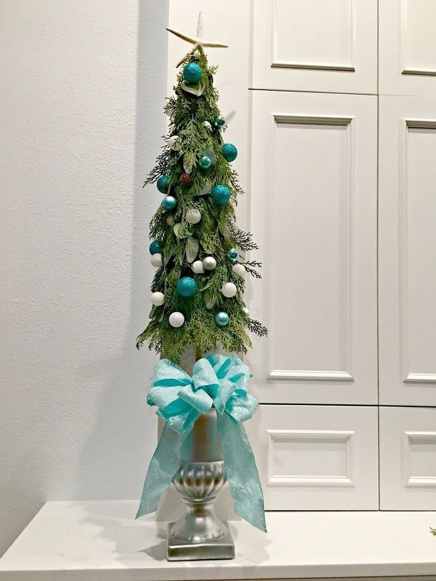 diy christmas tree topiary - Topiary Christmas Decorations