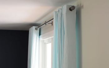 How to Make Inexpensive Curtains Rods Using Plastic Pipe and Plumbing