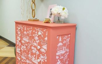 Jazz Up An Old Dresser Using A Stencil