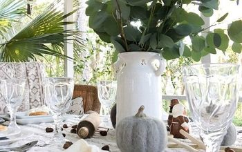 hygge inspired thanksgiving table idea