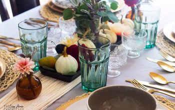 Thanksgiving Tablescape Inspiration  With DIY Tassel Table Runner