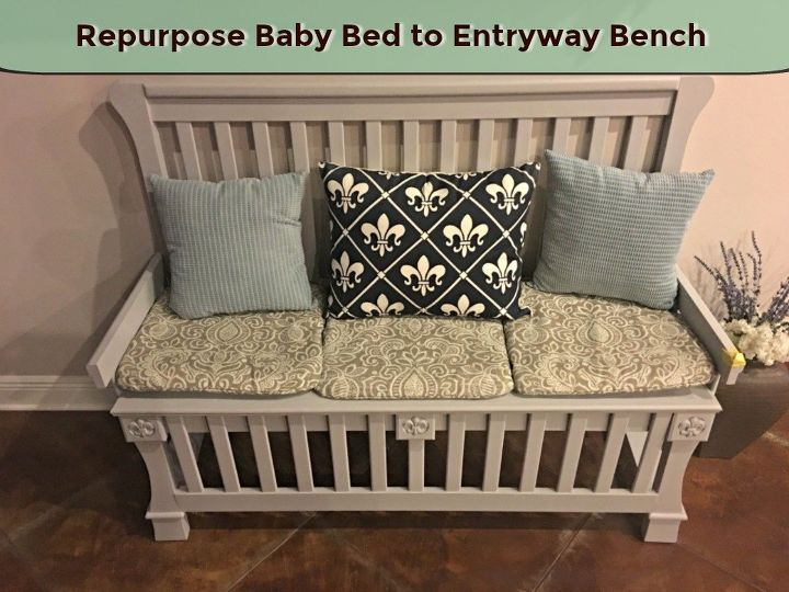 Baby Bed to Entryway Bench