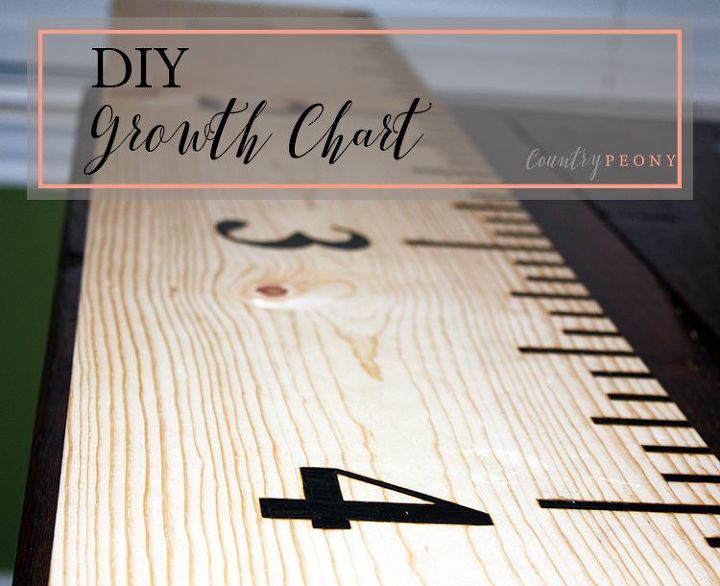 Diy Growth Chart Hometalk