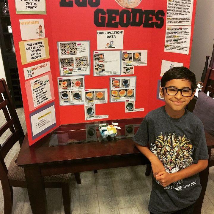 Science 🔬 Fair Experiment: Egg Geodes   Hometalk