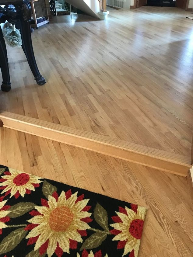 q help need a solution to step down in front entrance