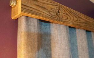quick pallet wood window valances