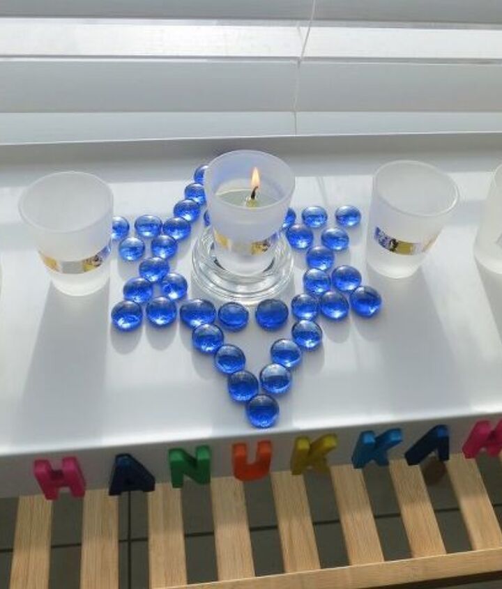 upcycled shot glasses for oil burning candles part 1