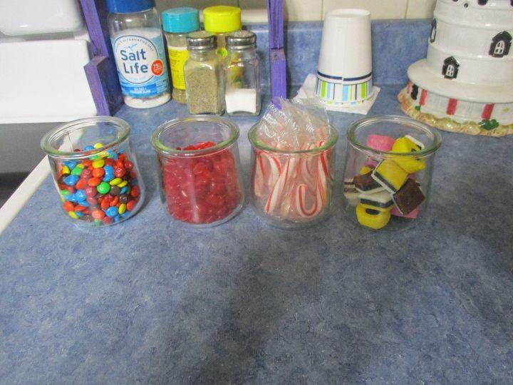 repurposed 5 oz glass oui yogurt jar