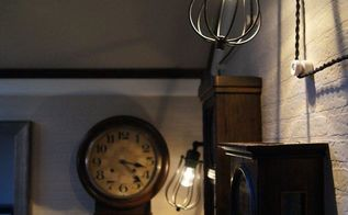 awesome wall light idea using cord decor