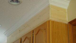 Kitchen Cabinet Crown Molding - Make Them Fancy! | Hometalk