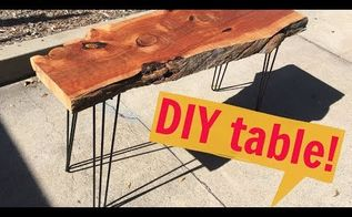diy hairpin leg table super easy