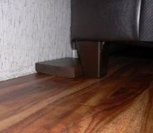 diy couch wall spacers