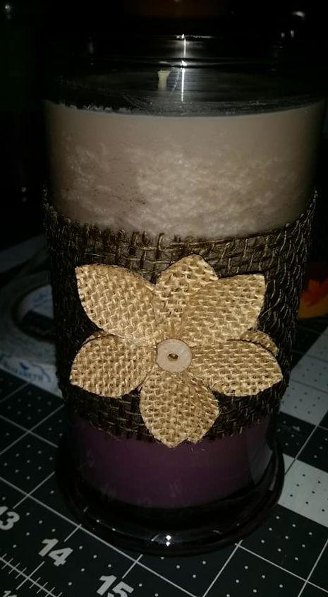 Decorating Candles in a Jar | Hometalk