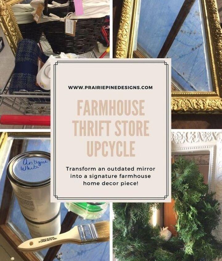 thrift store farmhouse decor