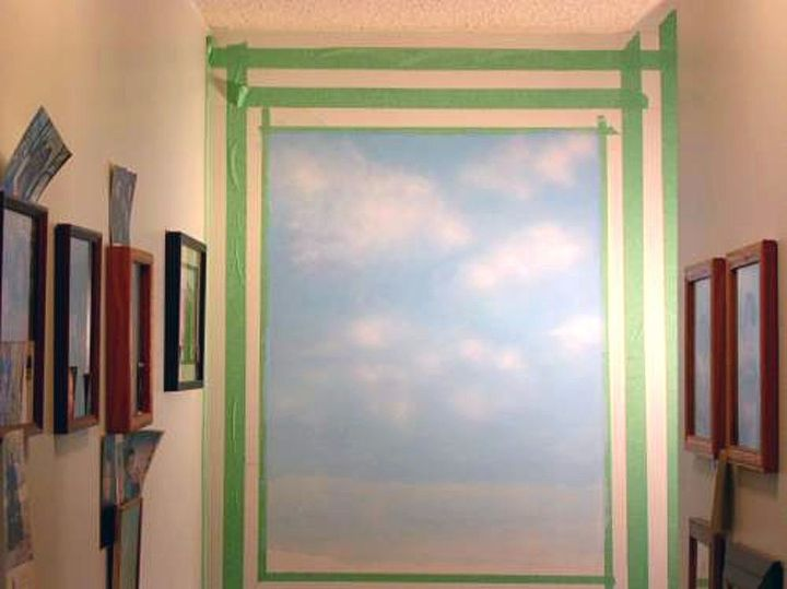 How To Make A Trompe L Oeil Fool Or Trick The Eye Wall Painting