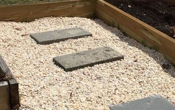 diy gravel garden path