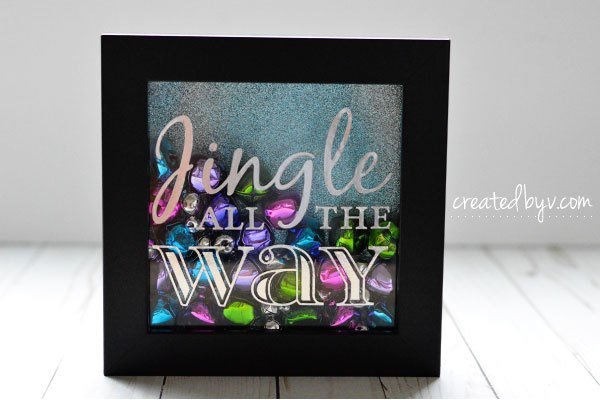 jingle bells shadow box