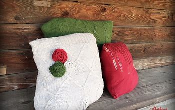 Turn Old Sweaters Into Throw Pillows