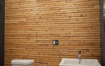 high end designer wall on a diy budget