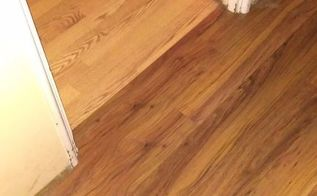 q does anyone know how to pull up ugly laminate flooring