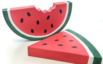Oversized Watermelon Decor