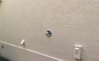 q how do i make the shower head pipe longer