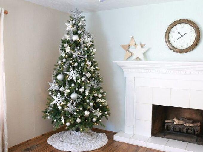 dollar store christmas tree decorating tutorial