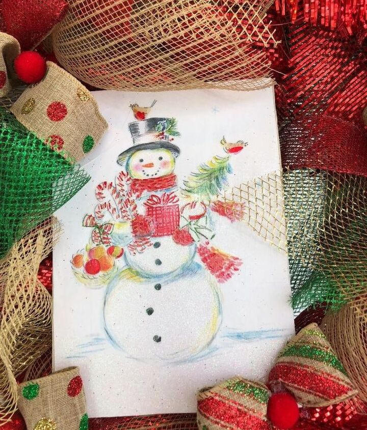 recycled christmas card and more