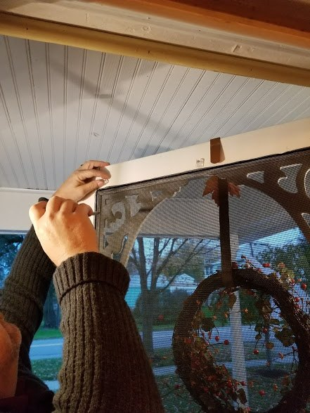 how to weatherproof your vinyl or wood screen door