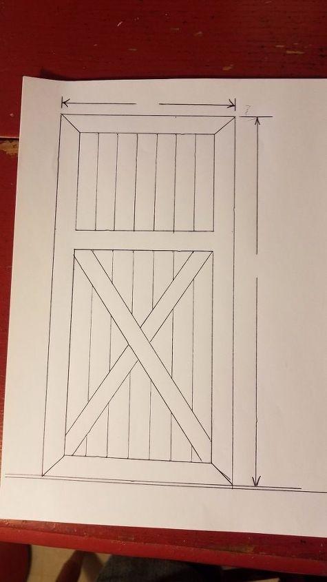 Building A Pine Door For A Sliding Barn Door Look Hometalk