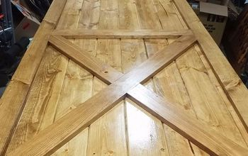 how to build a 1x6 t g pine door for a sliding door
