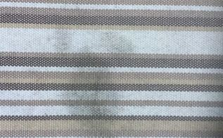 q how do i clean mildew off outdoor furniture cushions