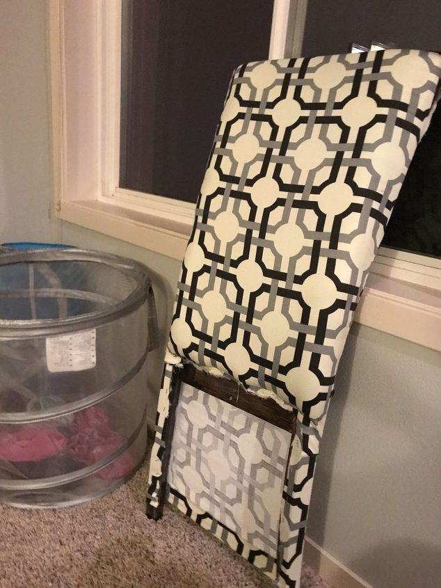 upholstered dining chair no sewing machine needed