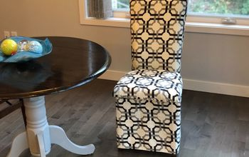 Upholstered Dining Chair - No Sewing Machine Needed!