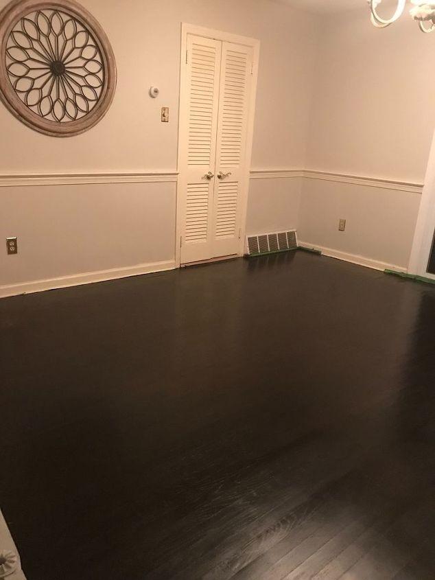 hardwood floor makeover for under 100