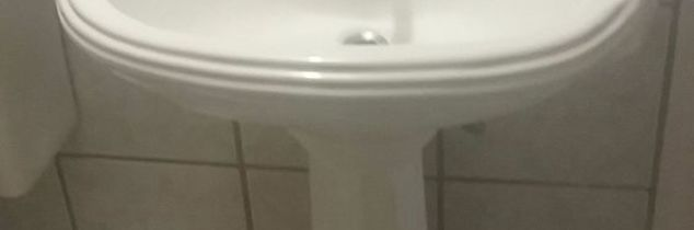 q idea to cover pedestal sink