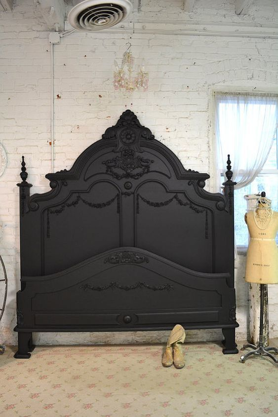 we ve painted a bed in 45 minutes headboard footboard and rails