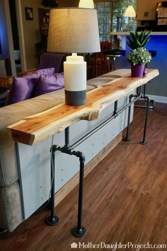 This Gorgeous Narrow Table Might Be What Your Living Room