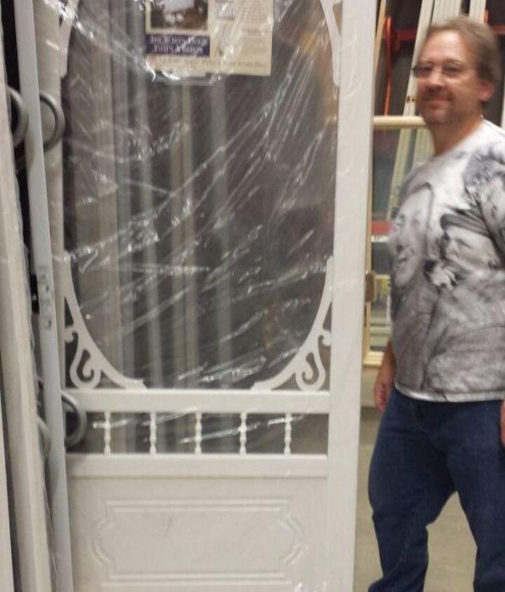 how to weatherproof your vinyl or wood screen door