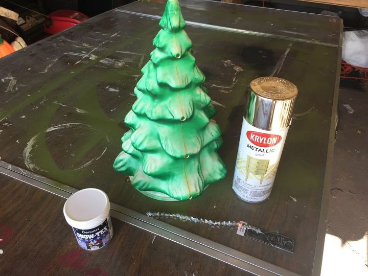 create an amazing diy glam retro style christmas tree
