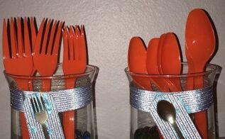 silverware holders for gatherings
