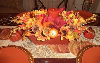 DIY Fall/Thanksgiving Centerpiece
