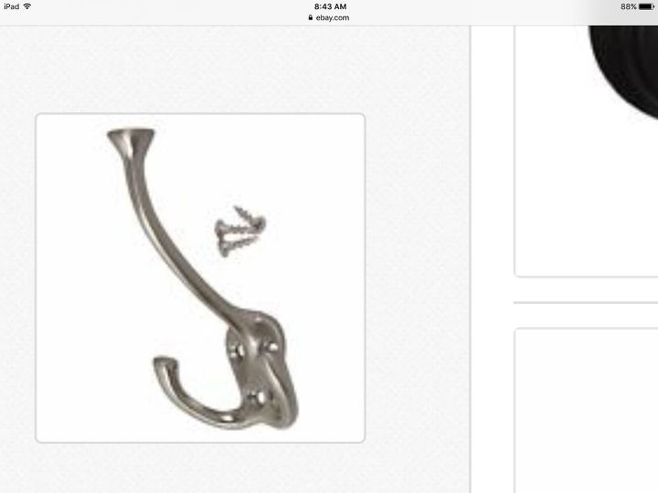 q can i paint a satin nickel coat hook to look like a venetian bronze